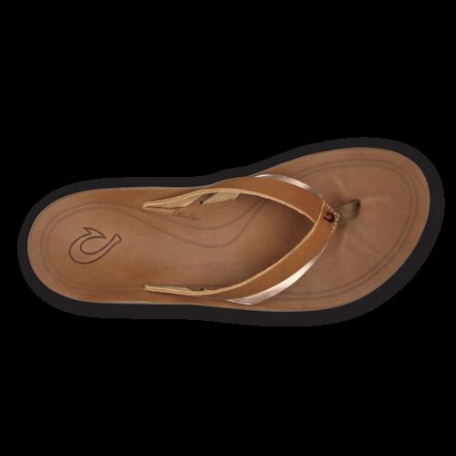 Olukai Kaekae Women's Leather Beach Sandals