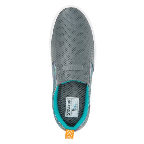 Xtra Tuf WOMEN'S FISHE®WEAR LEATHER SHARKBYTE DECK SHOE