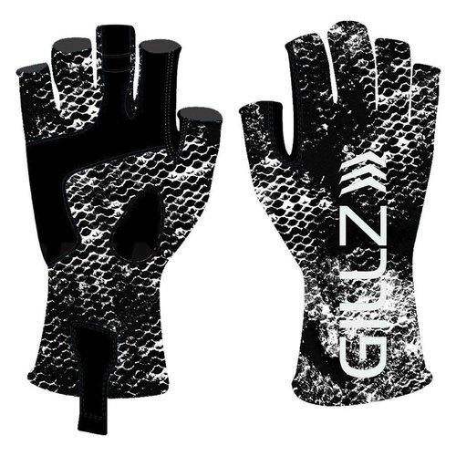 Gillz Black Grunge Gloves