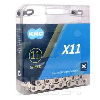 KMC Cadena KMC X11 Negra / Plata - 11 vel