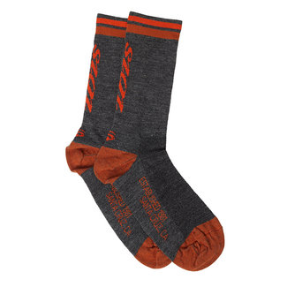 Ibis Cycles Calcetines Ibis Merino Wool - Grey / Orange