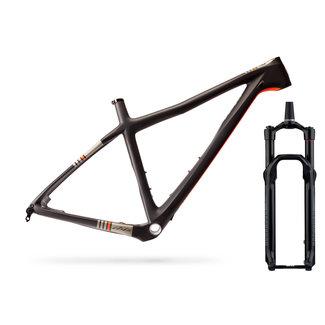 Ibis Cycles Kit Cuadro Ibis DV9 y Horquilla - Small / Black