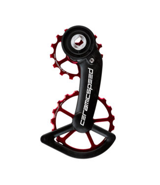 Ceramic speed OSPW SRAM AXS RED/FORCE RED COATED