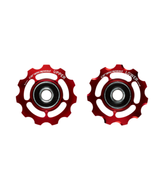 Ceramic speed GALETS CAMPY 11S ROUGE STANDARD
