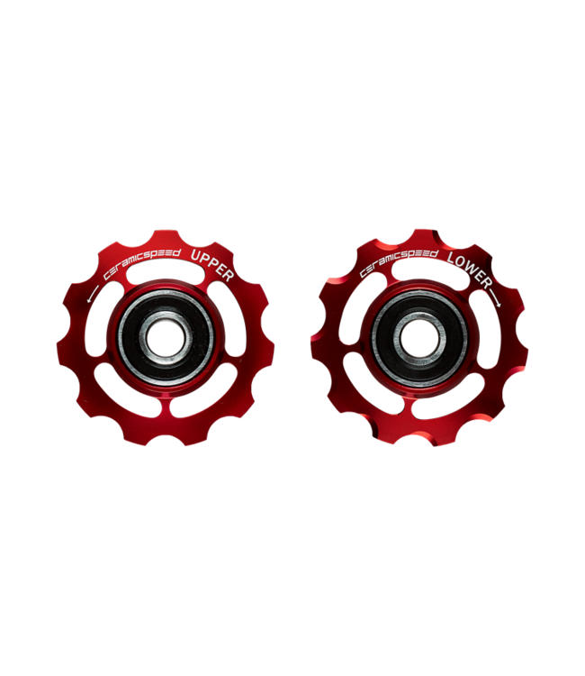 Ceramic speed PULLEY WHEELS CAMPY 11S RED STANDARD