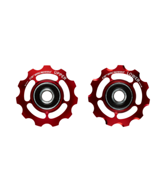 Ceramic speed PULLEY WHEELS 9-10 SPEED  SHIMANO RED STANDARD