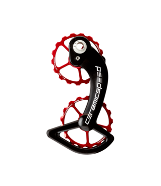 Ceramic speed OSPW, SHIMANO  10+11S RED COATED