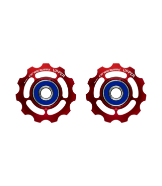 Ceramic speed PULLEY WHEELS SRAM 11S ROAD RED STANDARD
