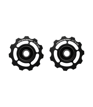 Ceramic speed PULLEY WHEELS SHIMANO 9/10S BLK STANDARD