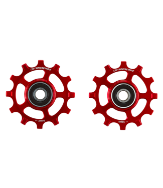 Ceramic speed PULLEY WHEEL SRAM AXS 12S ROAD RED STANDARD