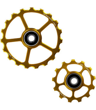 Ceramic speed PULLEY WHEEL OSPW (SPARE) 13/19T GOLD STANDARD