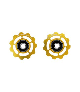 Ceramic speed PULLEY WHEEL SHIMANO 11S GOLD COATED
