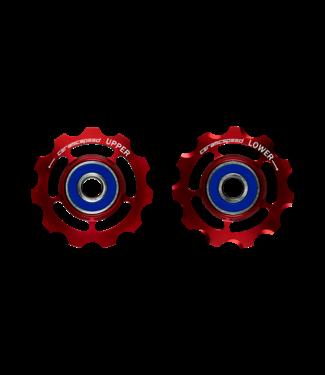 Ceramic speed GALETS SRAM 9+10 VITESSES ROUGE STANDARD