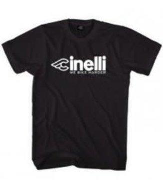 Cinelli T-SHIRT WHO WANTS TO RIDE