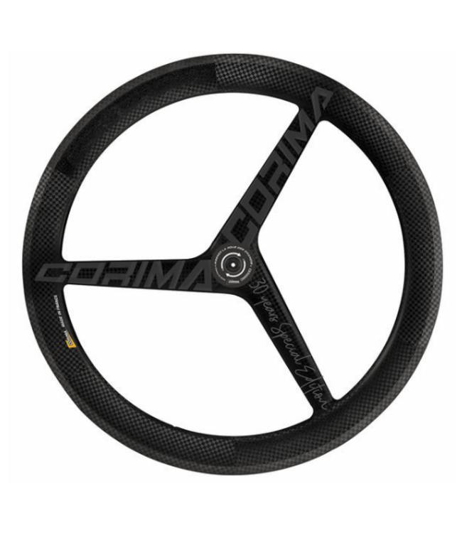 CORIMA FR CORIMA 3 SPOKE WS TT CLINCHER TA DX (3K) MATT BLACK