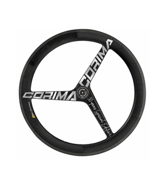 CORIMA FR CORIMA 3 SPOKES WHEEL HM WS TT TUBULAR TA DISC GREY