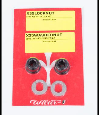 WILIER EBIKE X35 MOTOR LOCK NUT