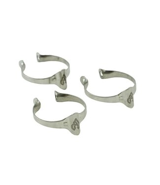 Cinelli CABLE GUIDE RING TOP TUBE 28.6 (3 pieces)