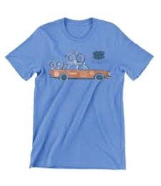 Silca T-SHIRT VOLVO BABY BLUE