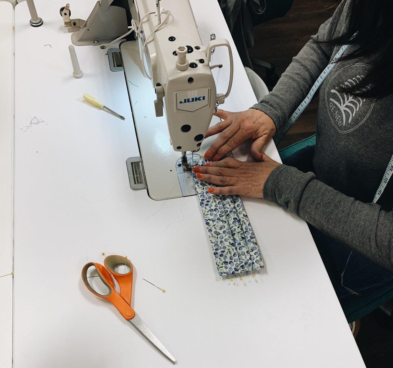 The Joy in Serving. By Deb Wieland, Volunteer Sewing Teacher