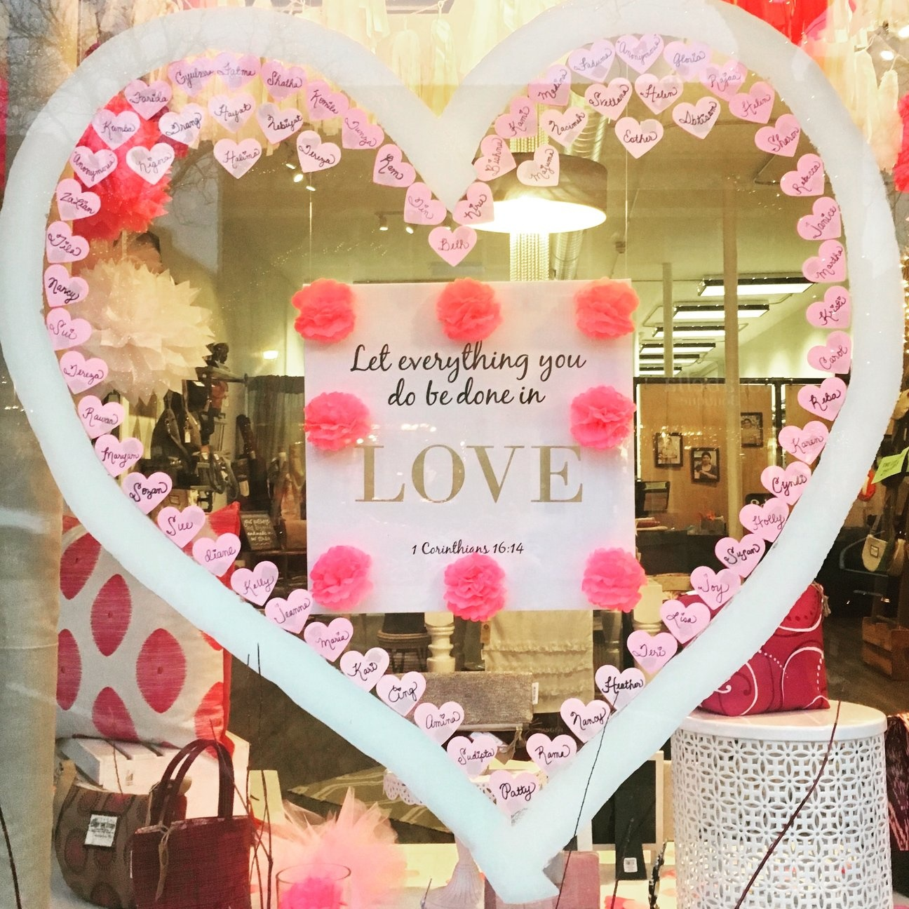 Send a Valentine to Re:new Artisans & New Students