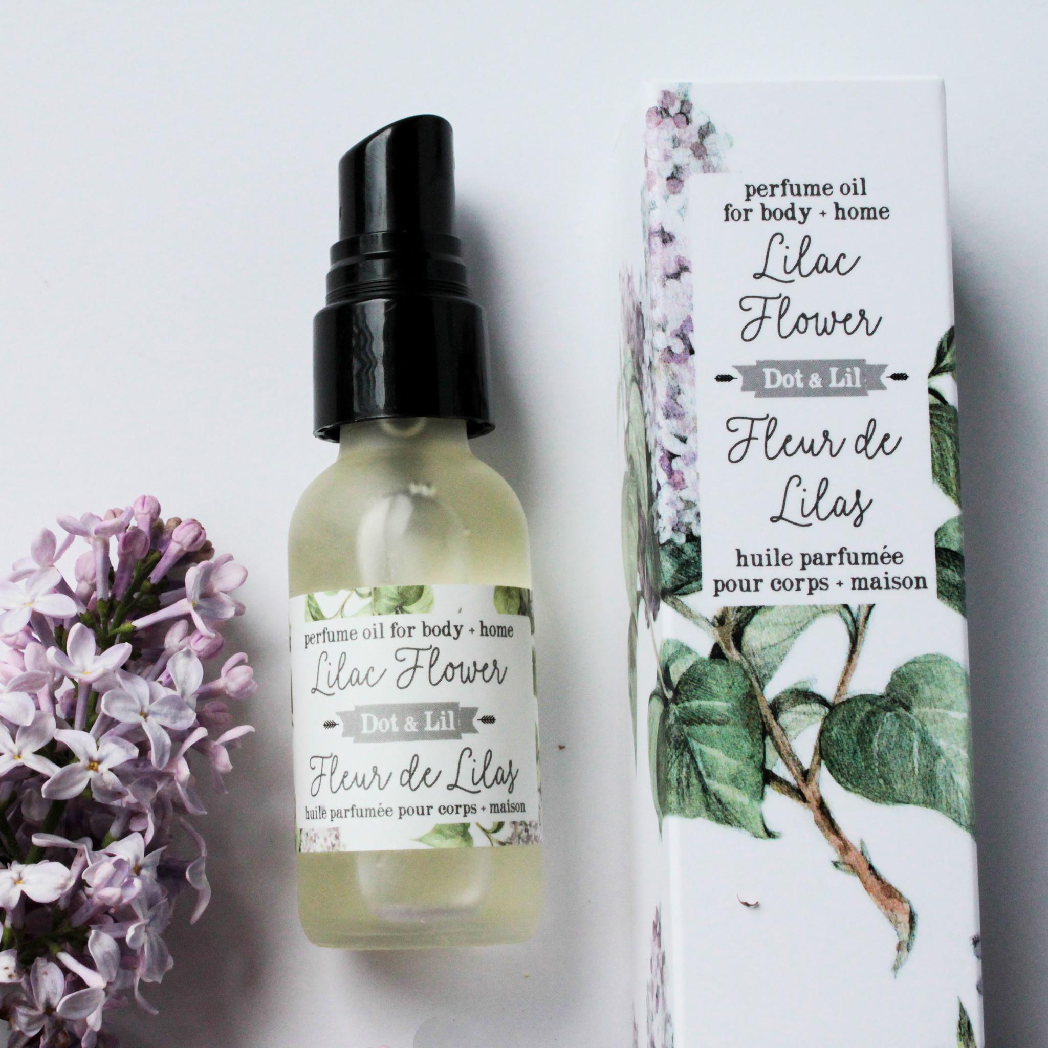 Dot and Lil Huile de parfum fleur de lilas