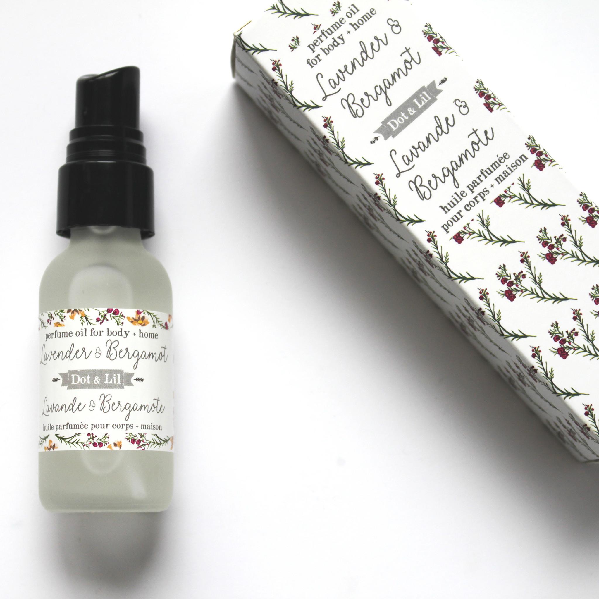 Dot and Lil Huile de parfum lavande et bergamote