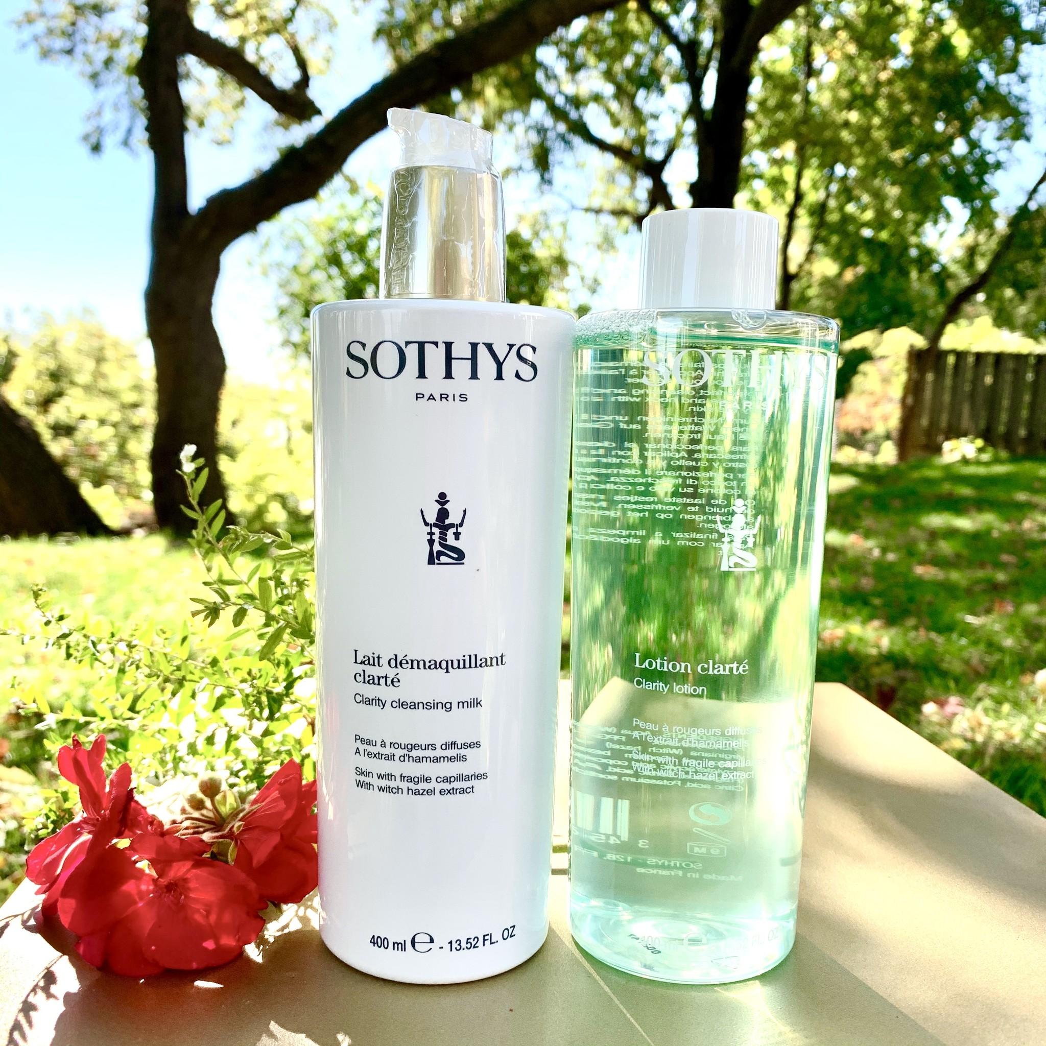 Sothys Duo lait démaquillant + lotion clarté 400ml