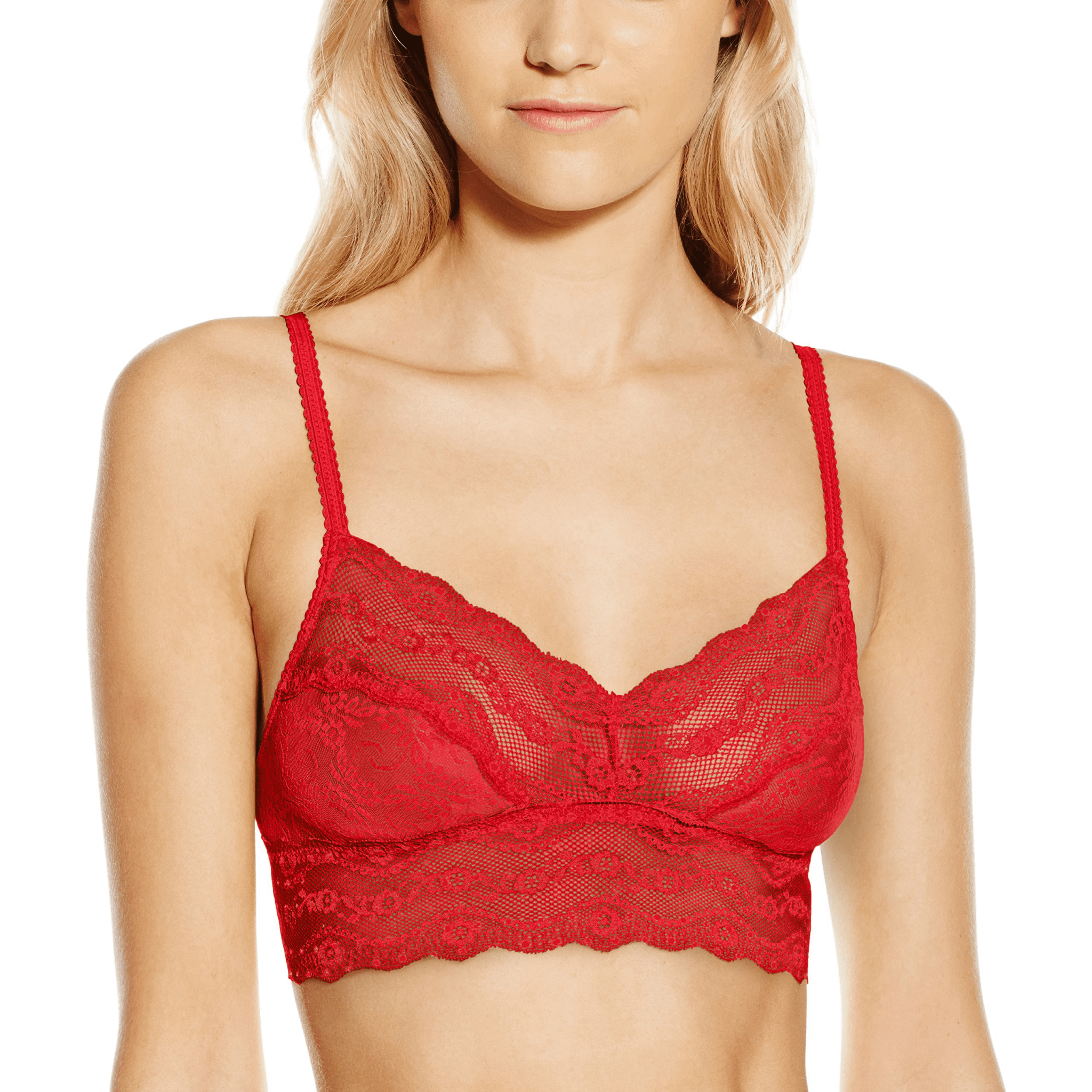 WACOAL B.Tempt'd Lace Kiss bralette red