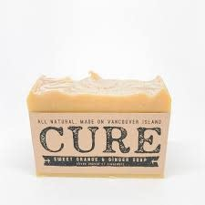 CURE Cure Soap Sweet Orange Giner