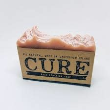 CURE BODY SOAP ROSE