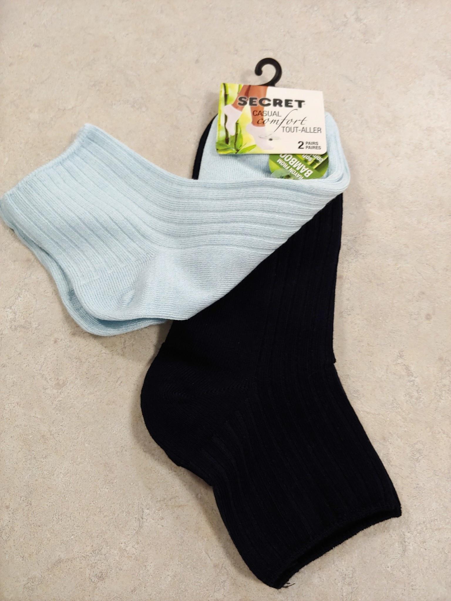Silks bamboo ankle socks, 2 pack