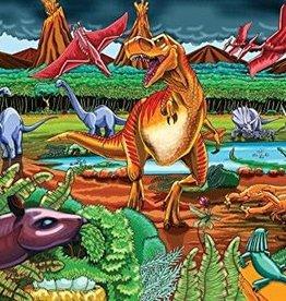 Cobble Hill Puzzles Dinosaur Volcano - 36 pc Floor Puzzle