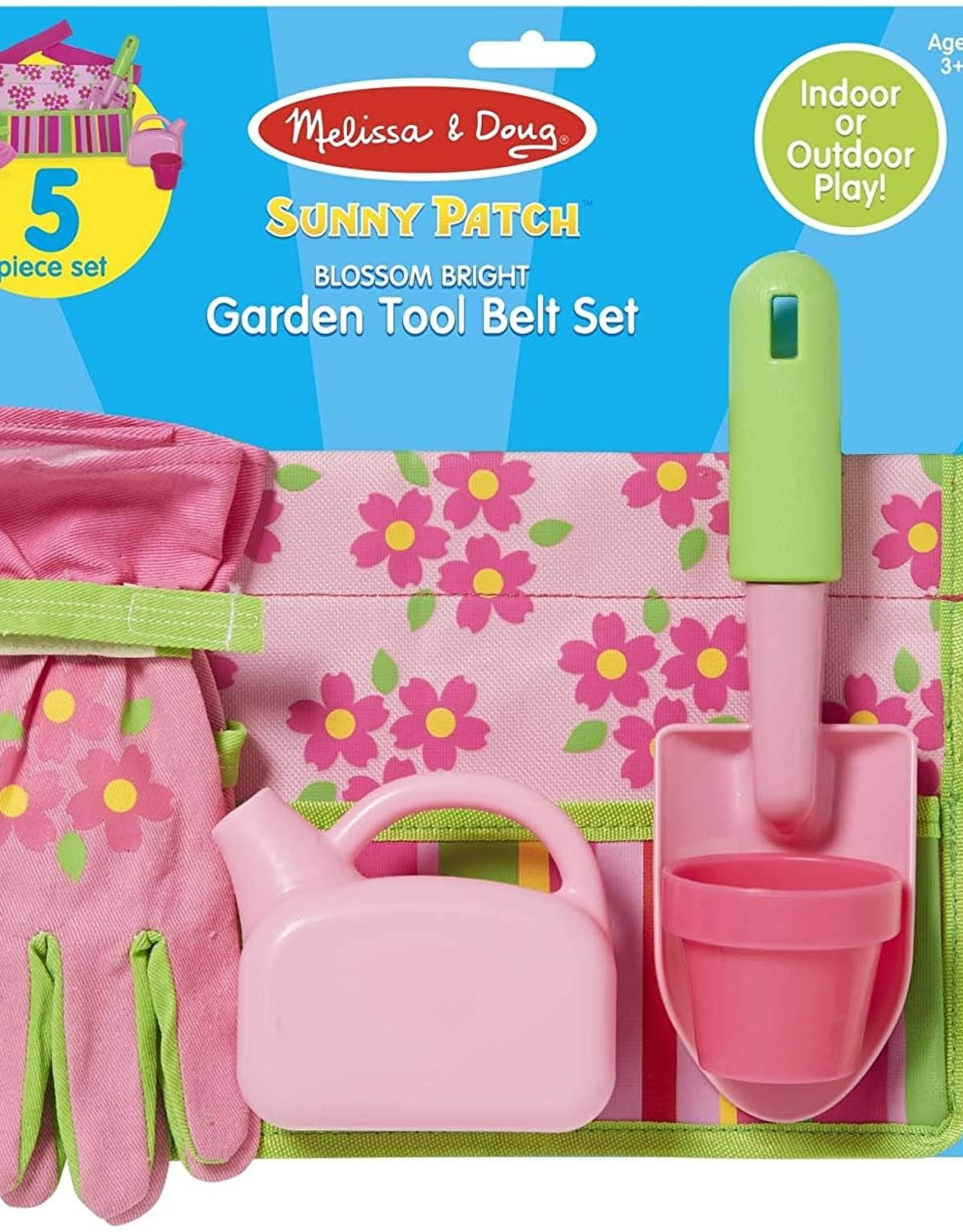 Melissa & Doug Melissa & Doug Sunny Patch Blossom Bright Garden Tool Belt Set