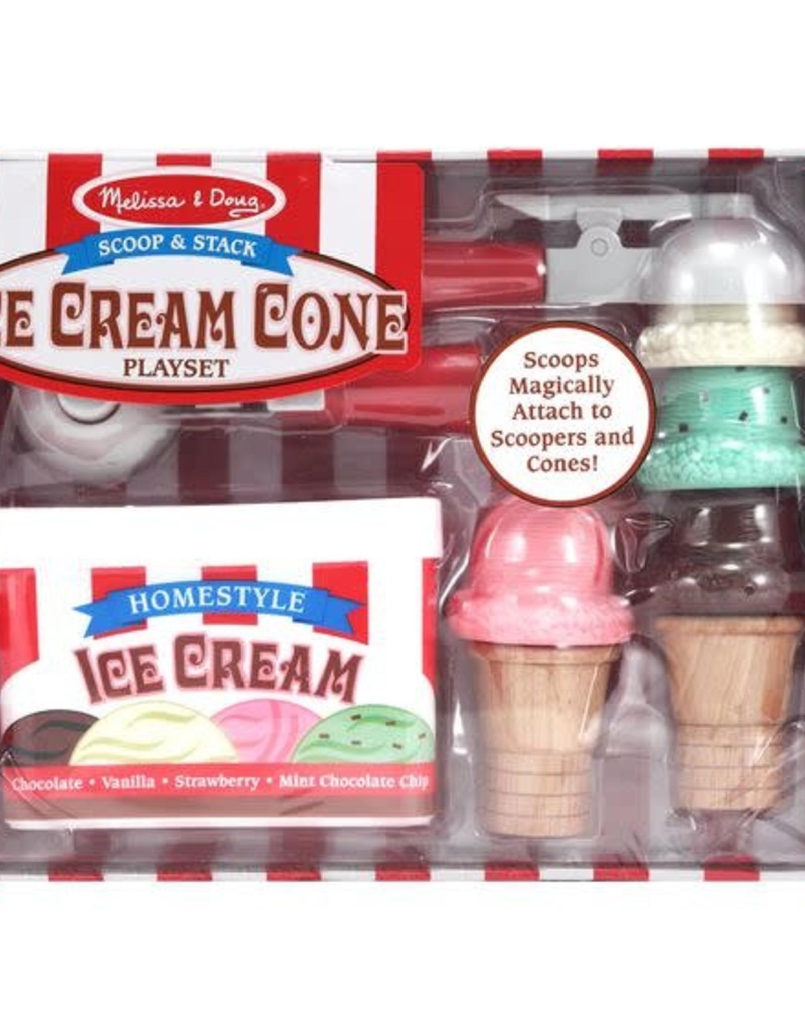 Melissa & Doug Melissa & Doug Scoop & Stack Ice Cream Cone Playset