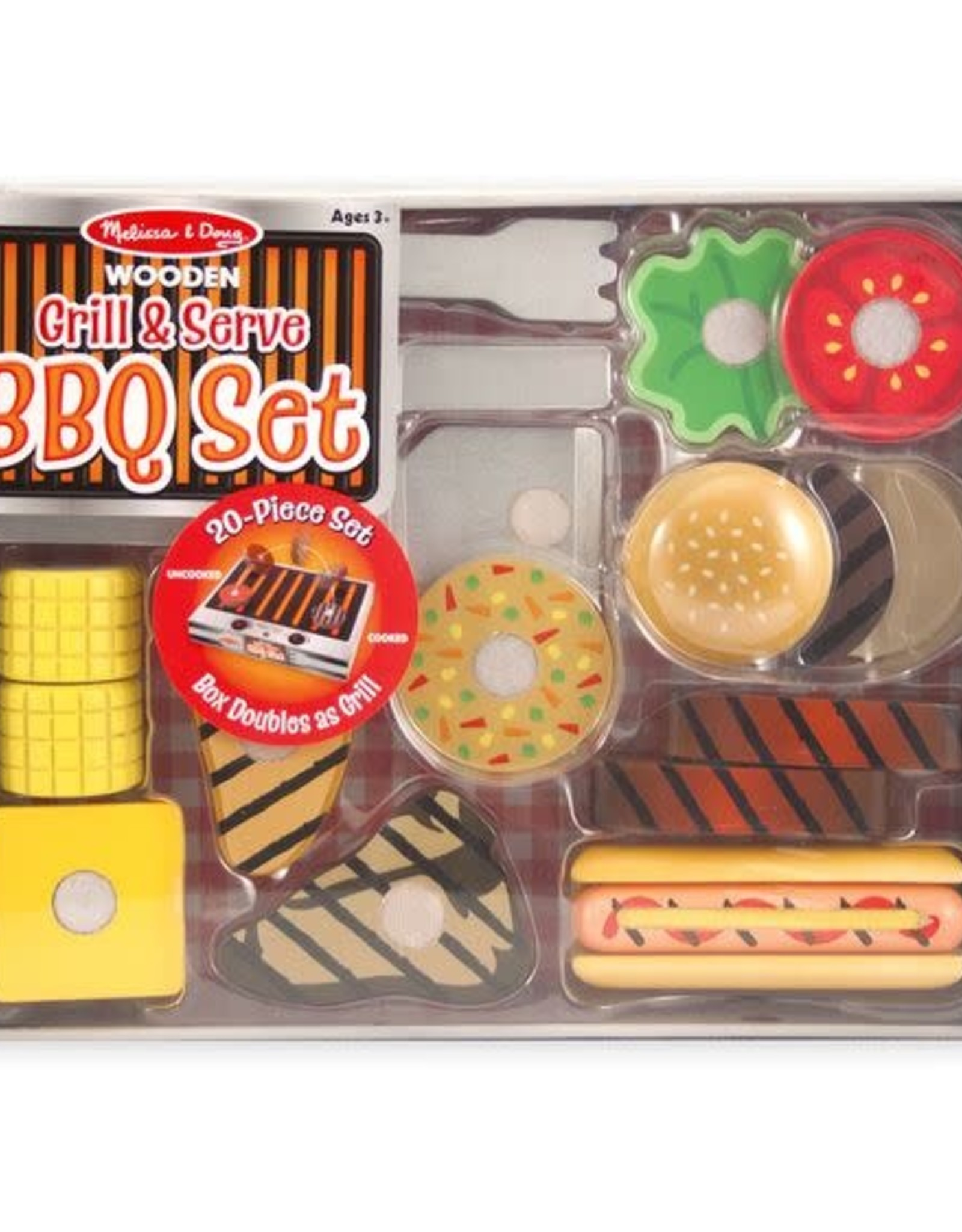 Melissa & Doug Melissa & Doug Grill & Serve BBQ Set