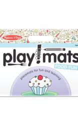 Melissa & Doug Melissa & Doug Playmats - Food Fun