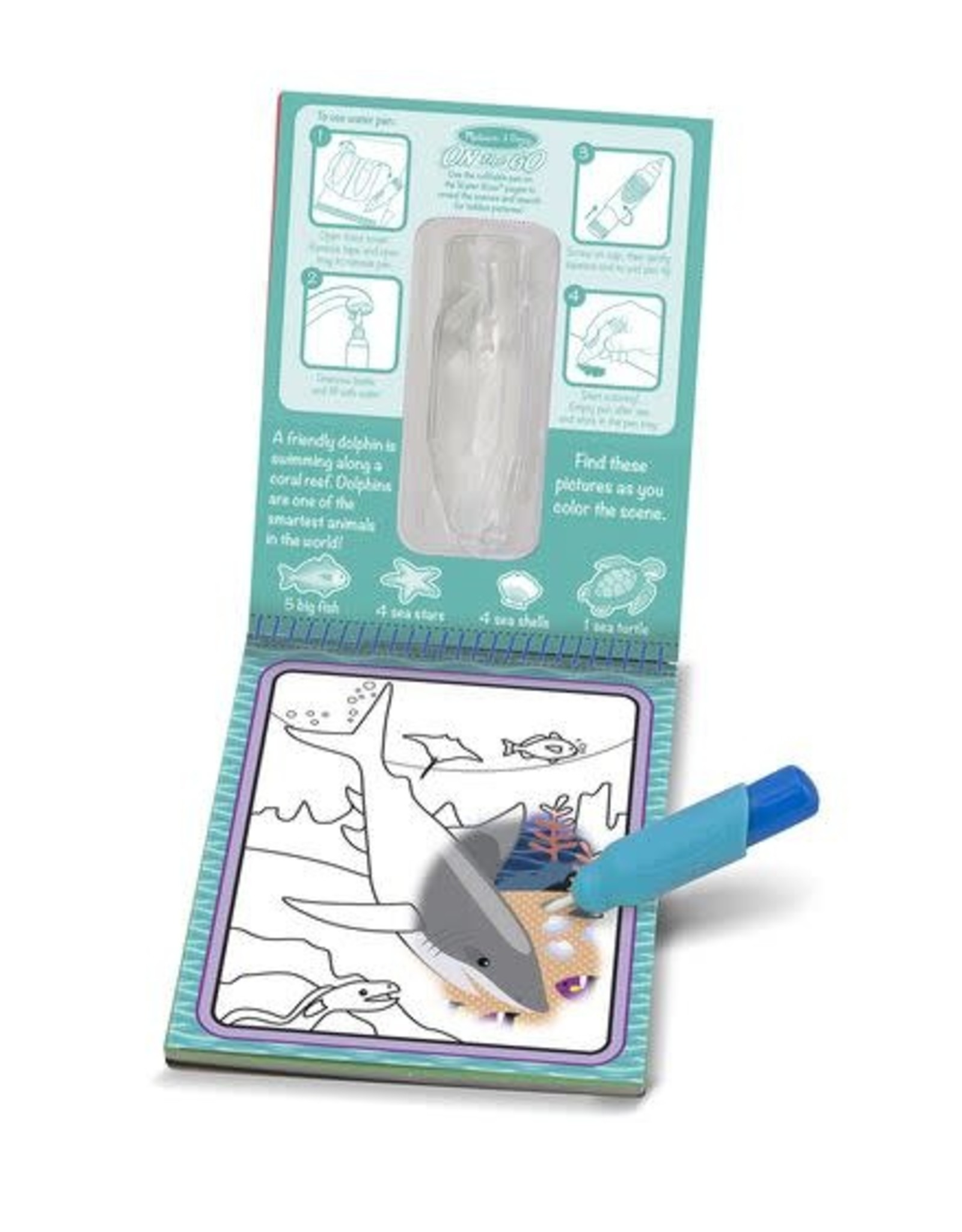 Melissa & Doug Melissa & Doug Water Wow! - Under The Sea Water Reveal Pad