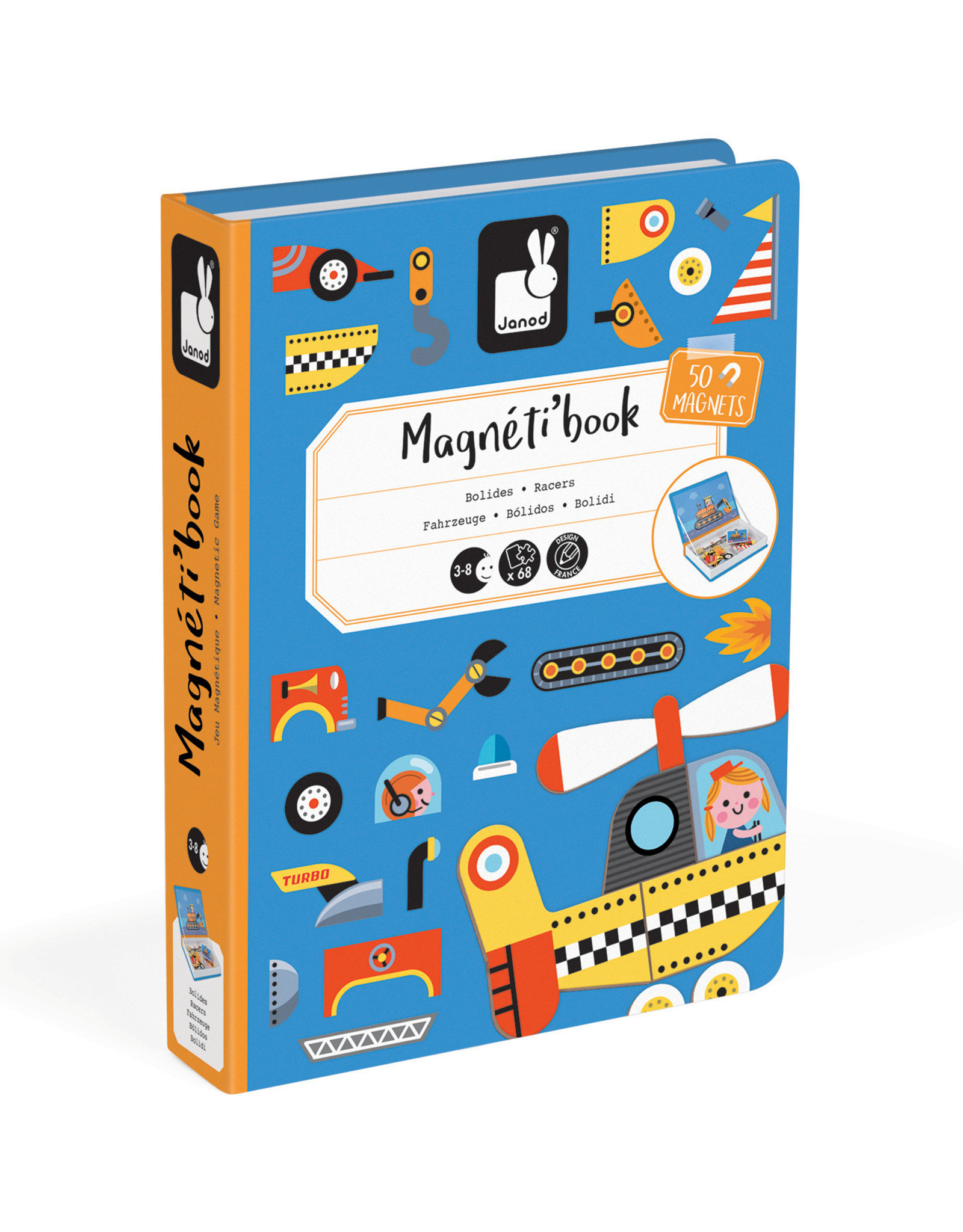 Janod Janod Magneti'book - Racers