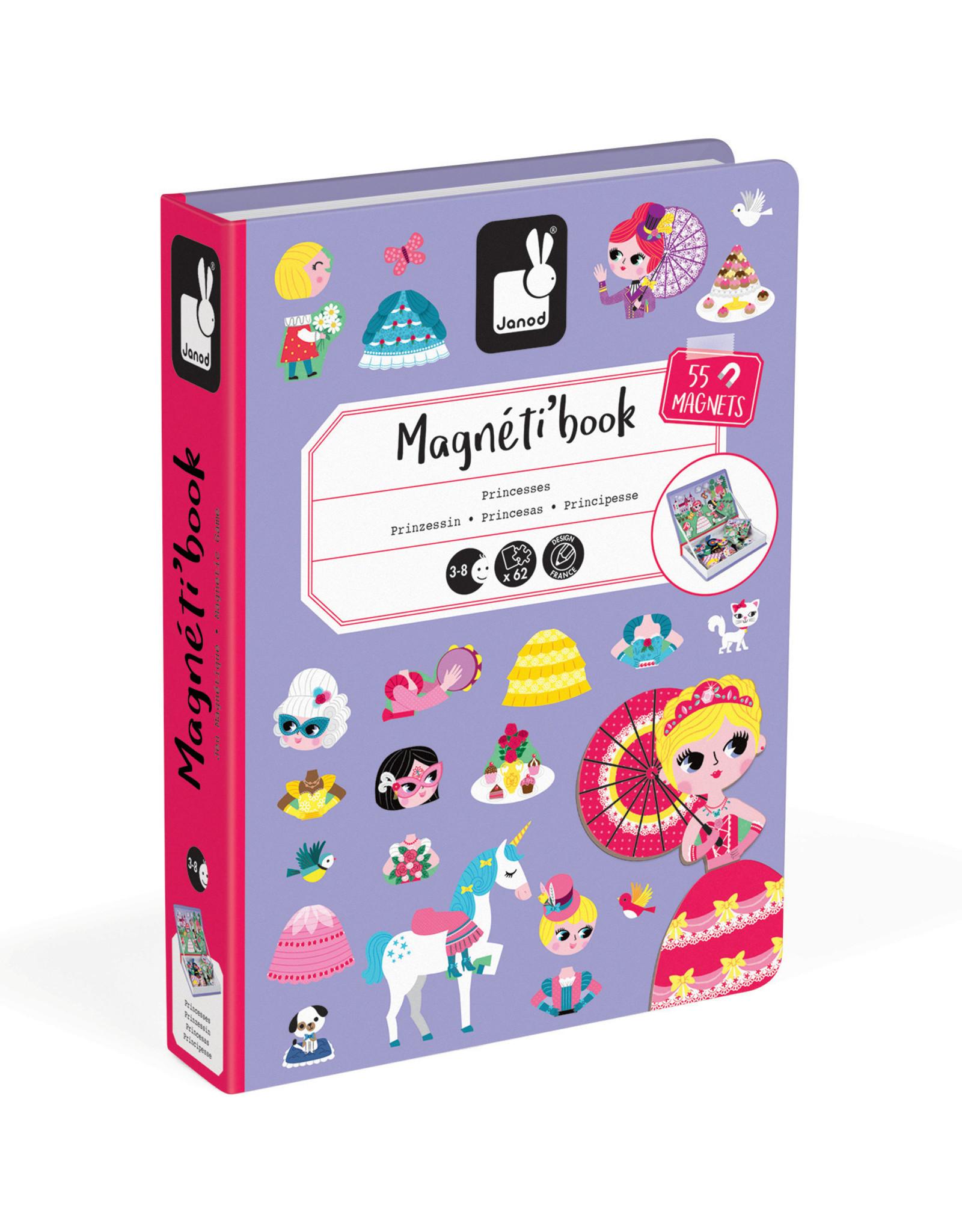 Janod Janod Magneti'book - Princess