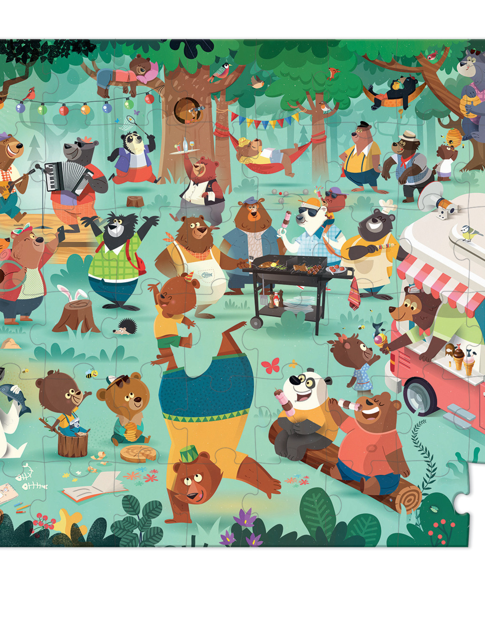 Janod Family Bears - 54 pc puzzle by Janod