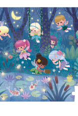 Janod Fairies & Waterlillies - 36pc puzzle by Janod