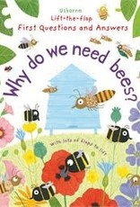 Usborne Usborne Lift-the-Flap First Questions and Answers: Why Do We Need Bees?