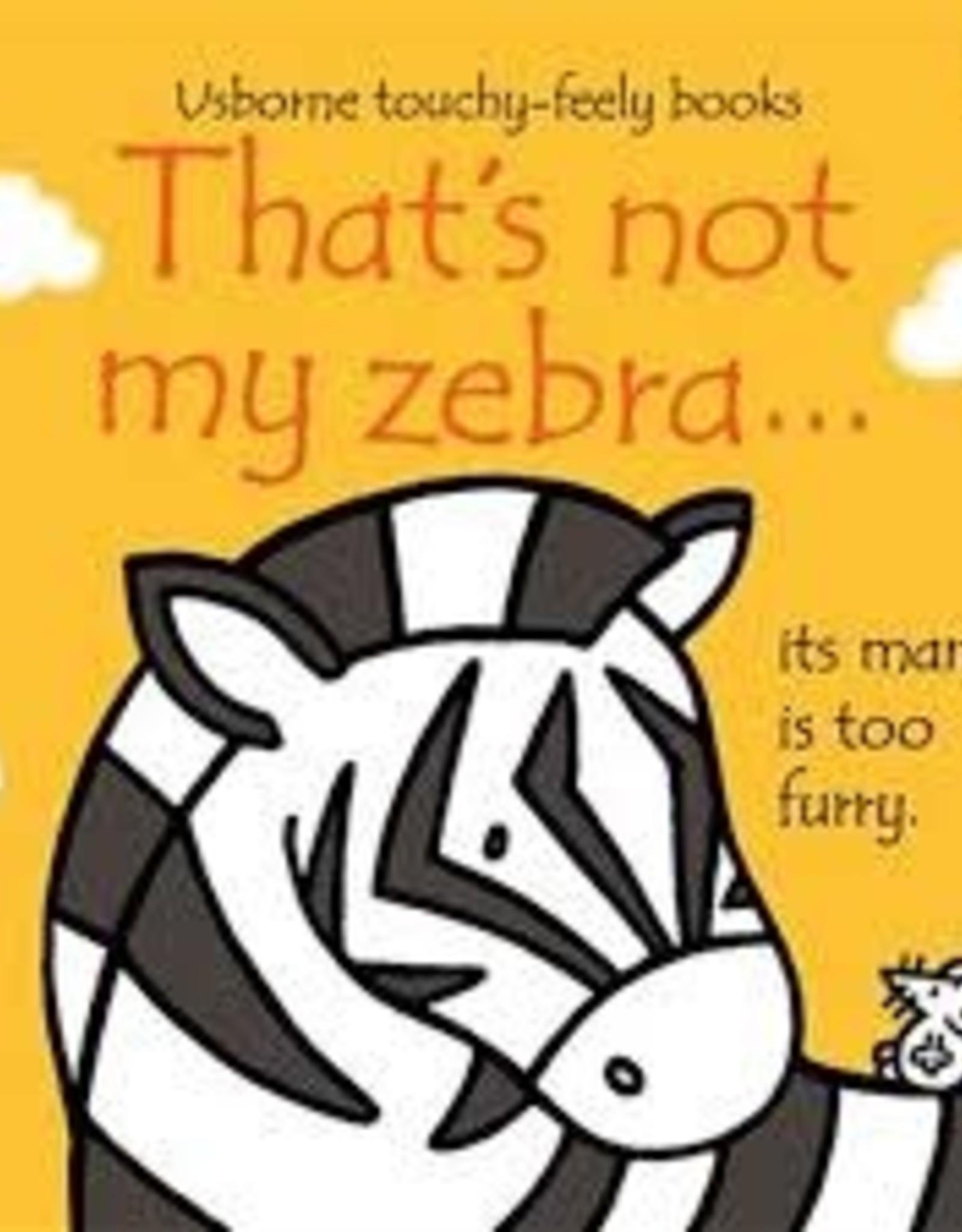 Usborne Usborne That's Not My Zebra