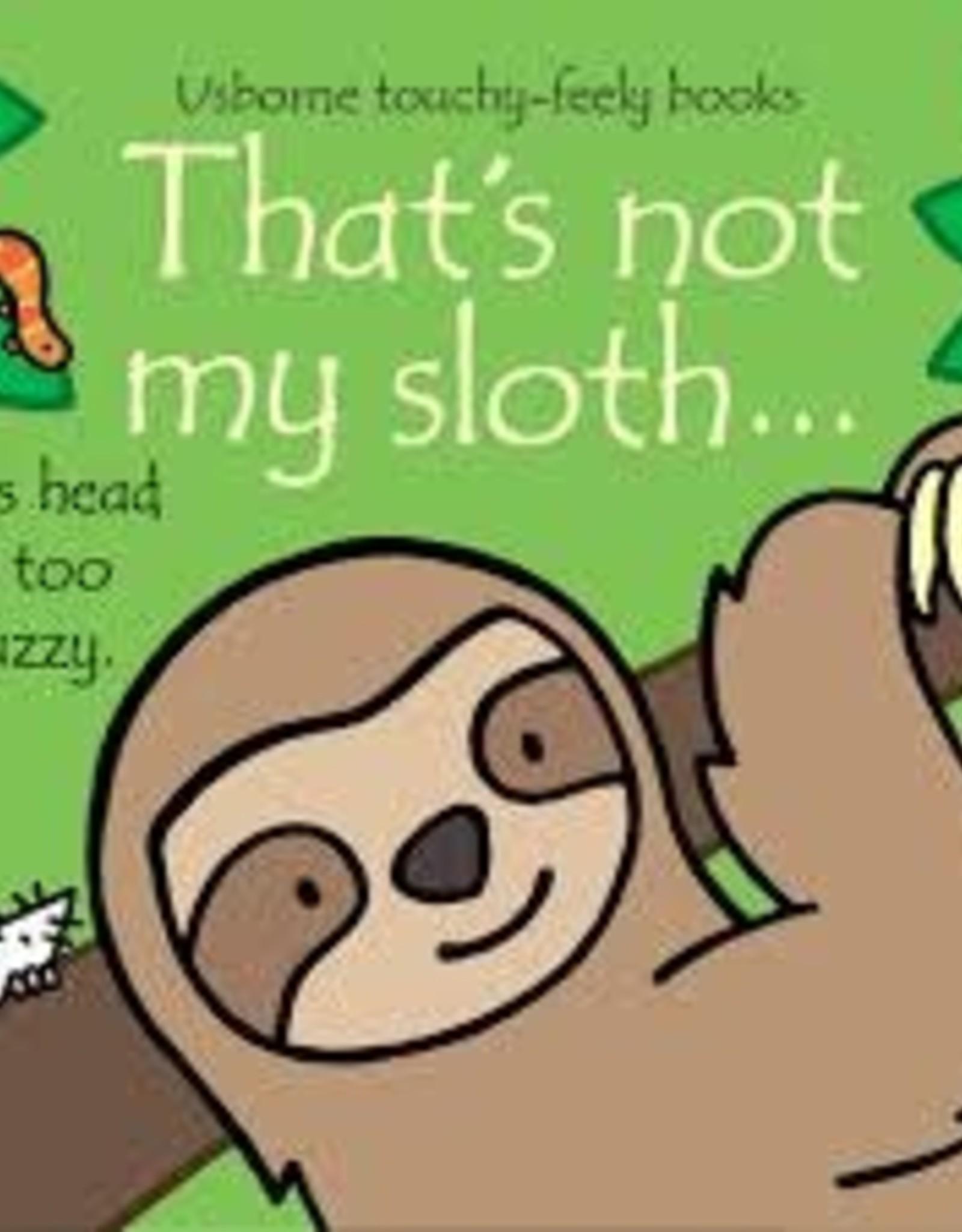 Usborne Usborne That's Not My Sloth