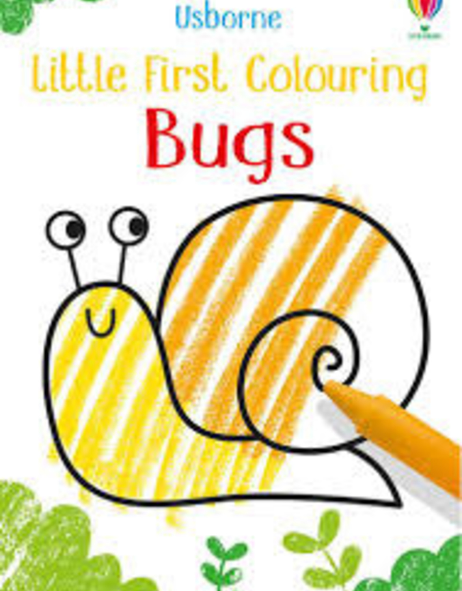Usborne Usborne Little First Colouring Bugs