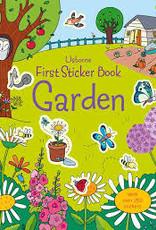 Usborne Usborne First Sticker Book Garden