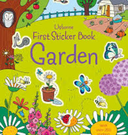 Usborne Usborne First Sticker Book Garden