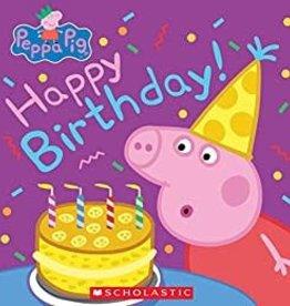 Scholastic Peppa Pig Happy Birthday!