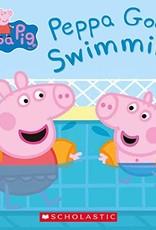 Scholastic Peppa Pig Peppa Goes Swimming